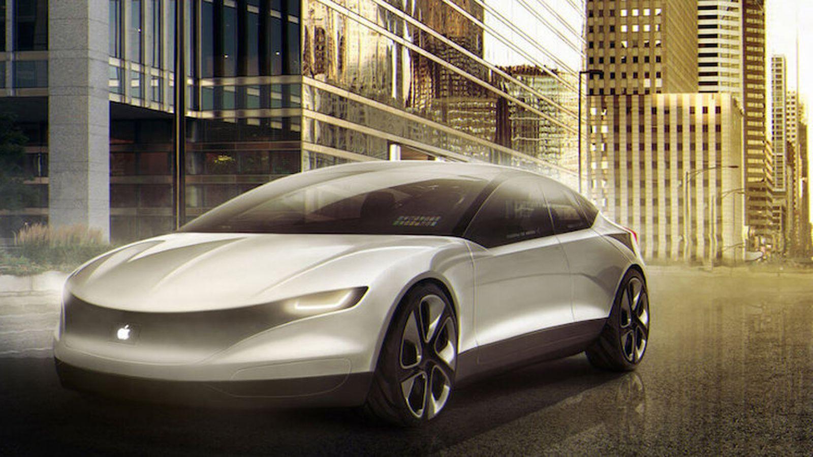 az Apple elektromos autójának látványterve