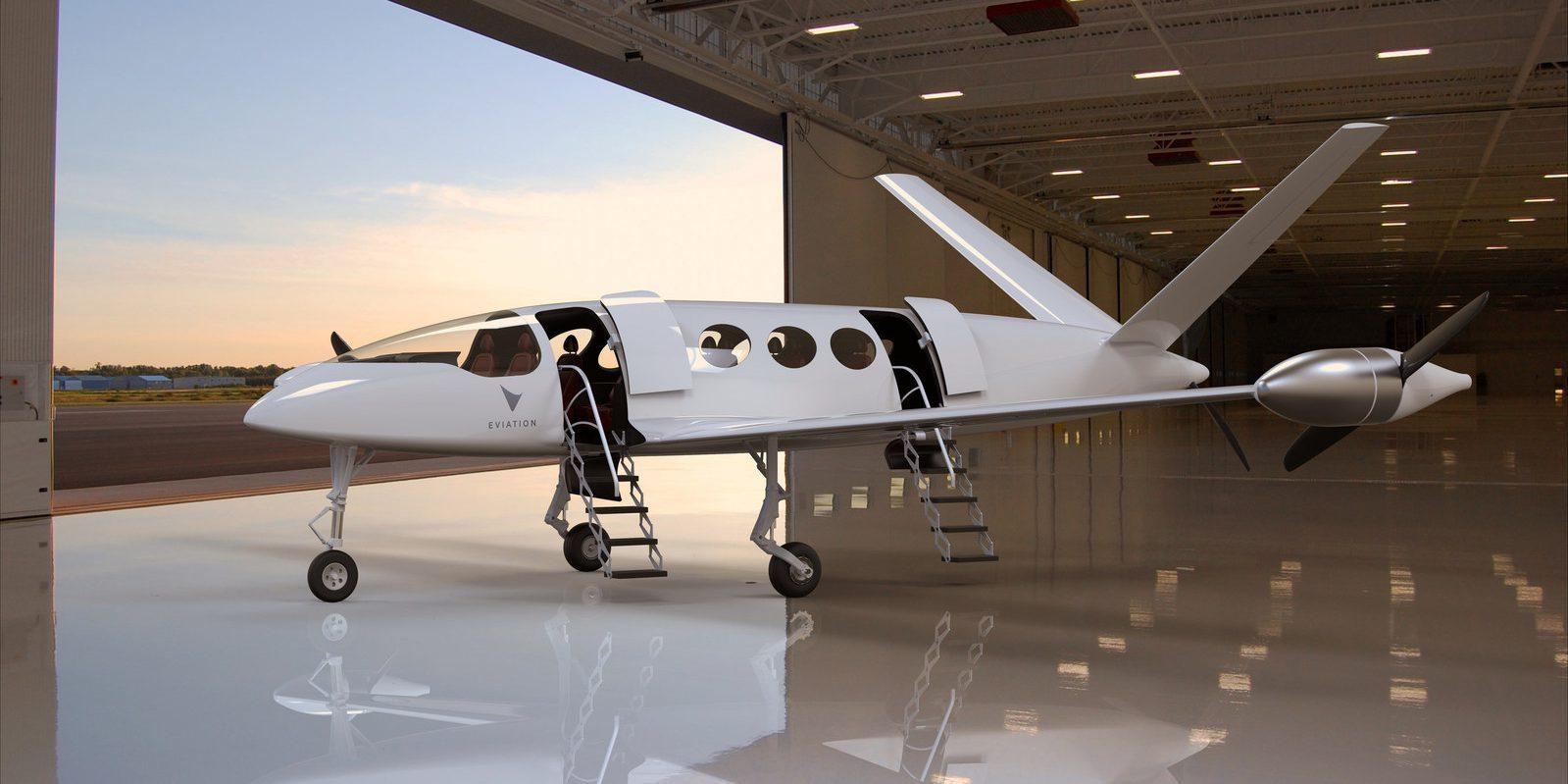 elektromos repülőgép – látványterv