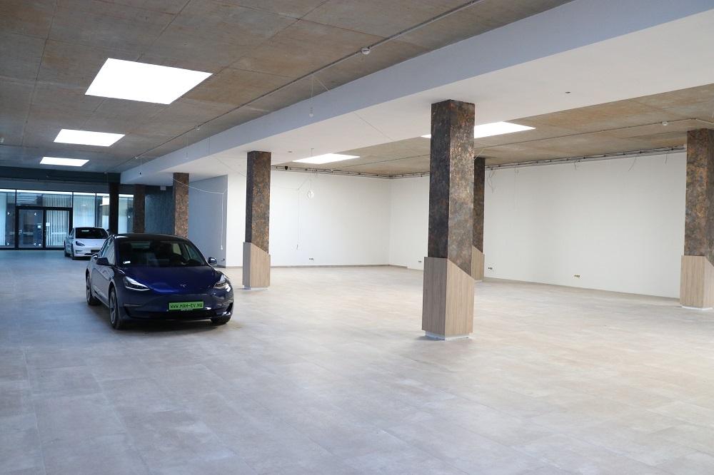 a Magyar Autókereskedőház Zrt. készülő prémiumautó-szalonja