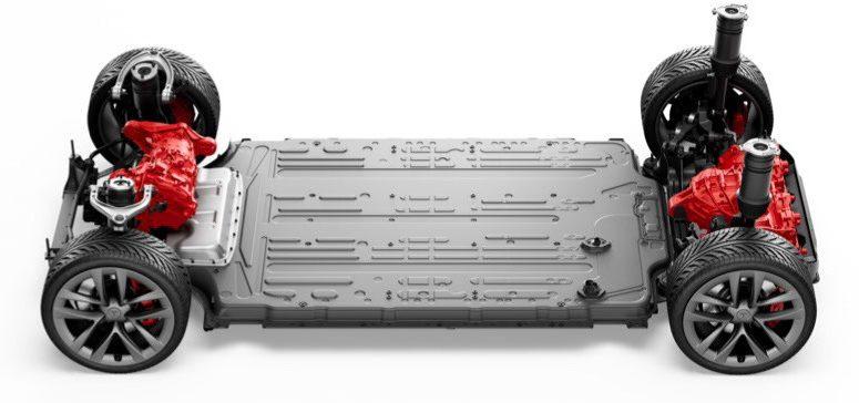 Tesla Model S platform