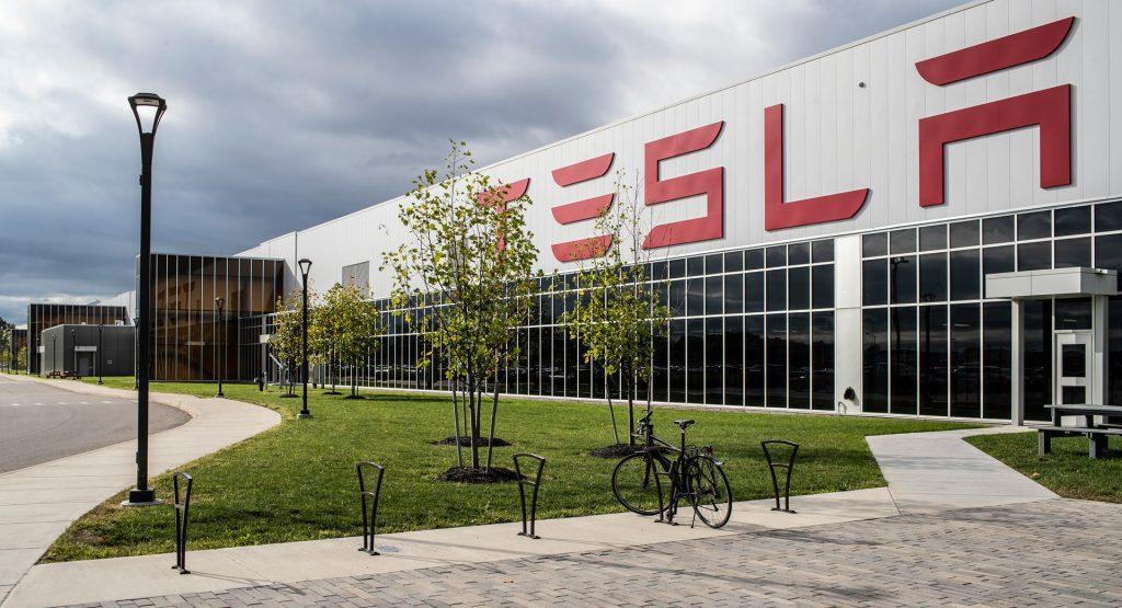 Tesla Gigafactory Texas látványterv